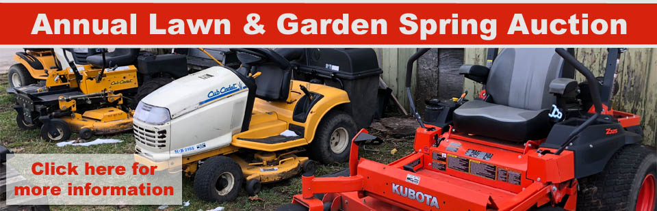 Spring Lawn & Garden Auction