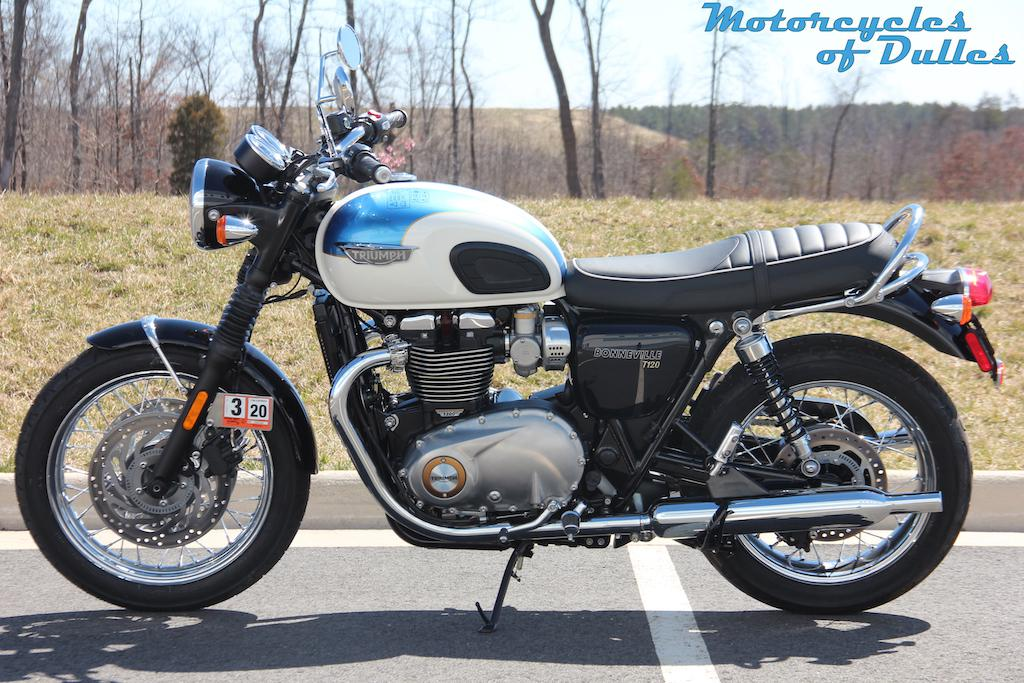 2019 Triumph Bonneville T120 For Sale In Dulles Va Motorcycles Of