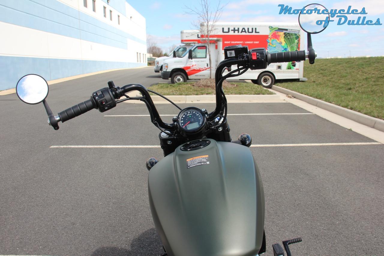 dulles va twenty bobber scout motorcycle indian