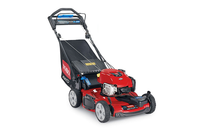 All Wheel Drive Mower