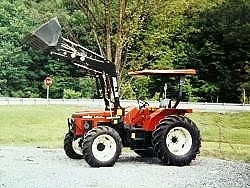1995 Zetor 4340 Tractor with Loader