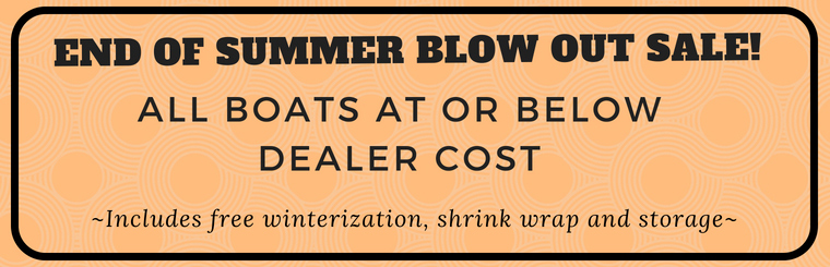 End of Summer Blow Out Sale