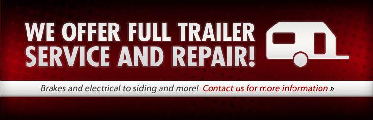 Bee Line Service Center offers full trailer service and repair! Contact us for more information.