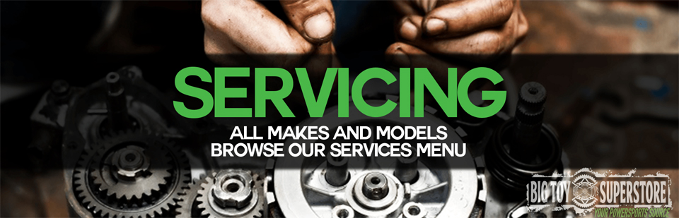 We service all makes and models!