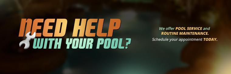 We offer pool service and routine maintenance. Schedule your appointment today.