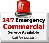 24/7 Emergency Commercial Service Available