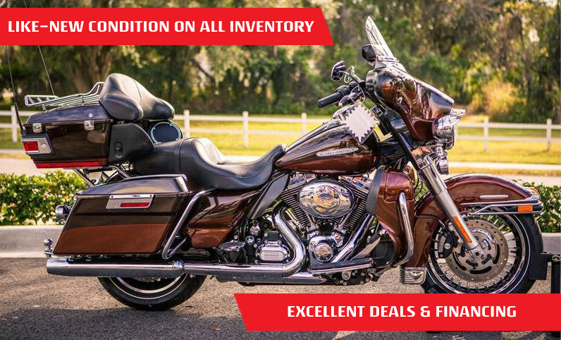 Shop Used Motorcycles, Scooters, ATVs and Side by Sides | Best Selection in Florida
