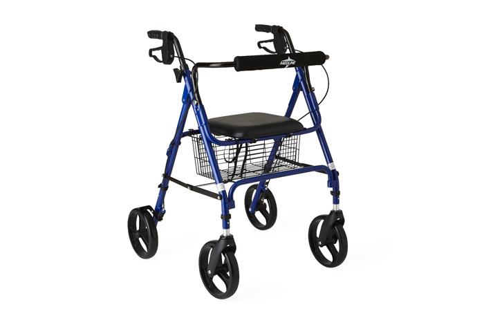 4-wheeled rollator