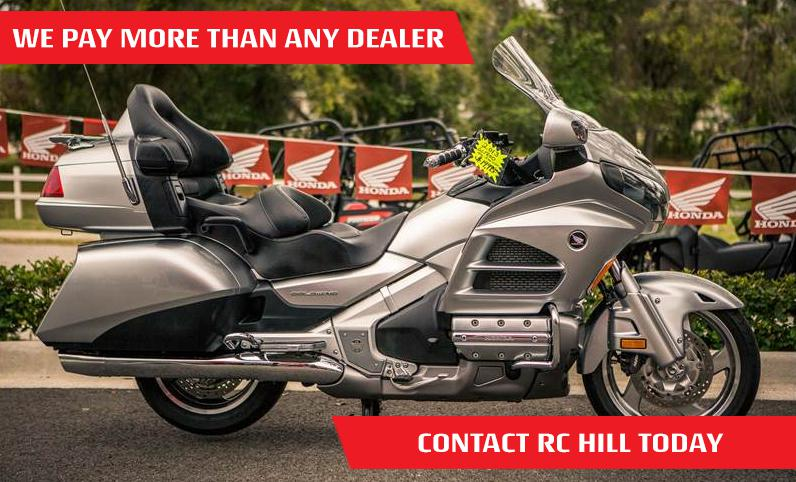 We Buy Motorcycles, ATVs, Side by Sides | We Pay More Than Any Other Dealer