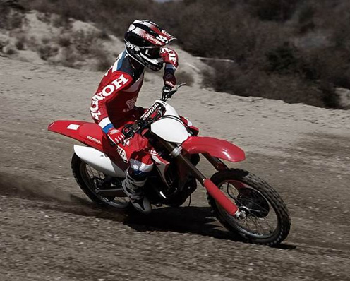 Honda Competition Dirt Bikes