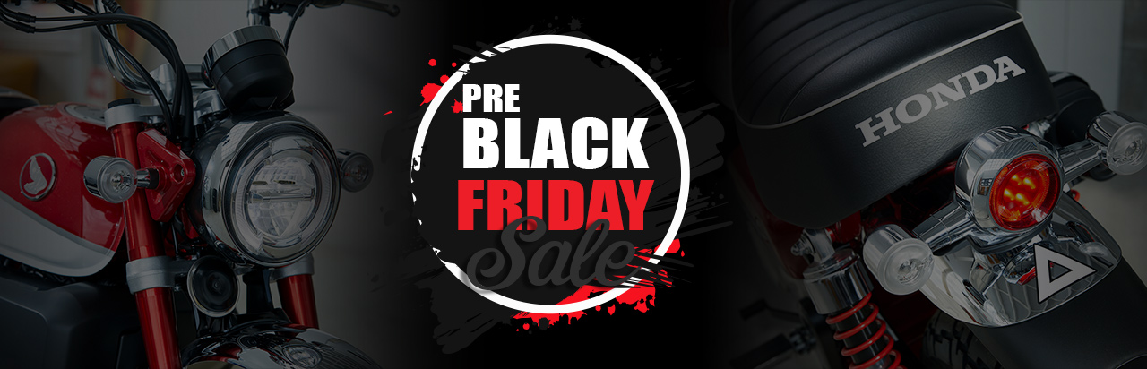 Pre Black Friday Sale at RC Hill Honda