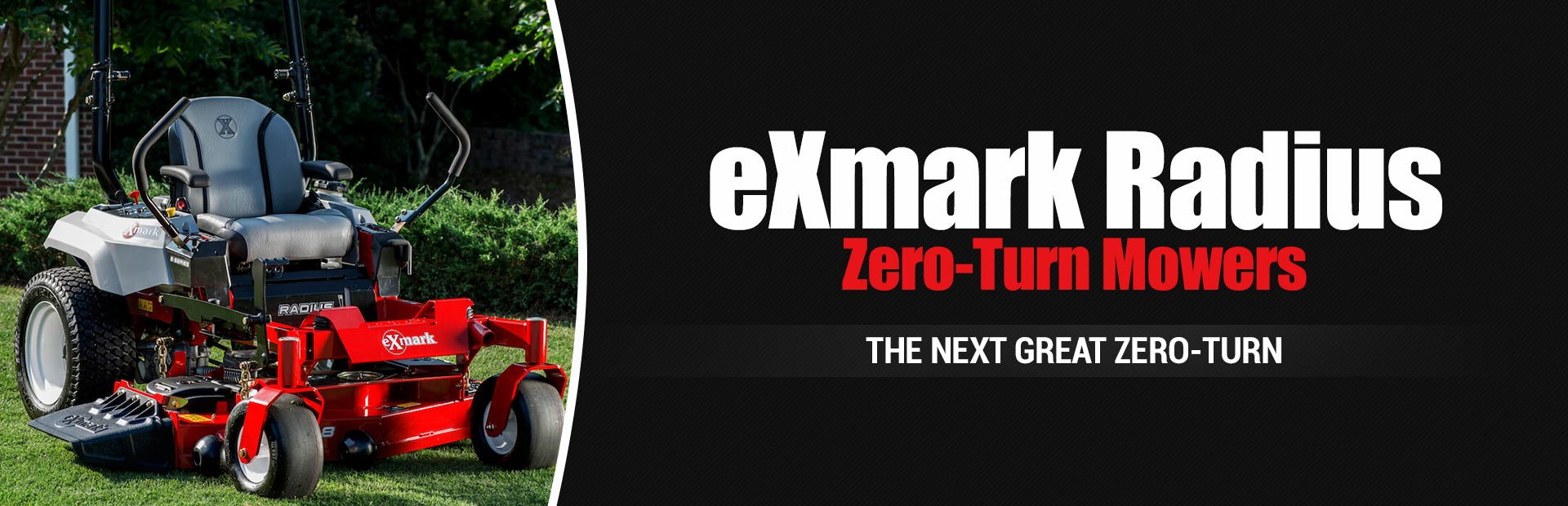Exmark Radius Zero-Turn Mowers