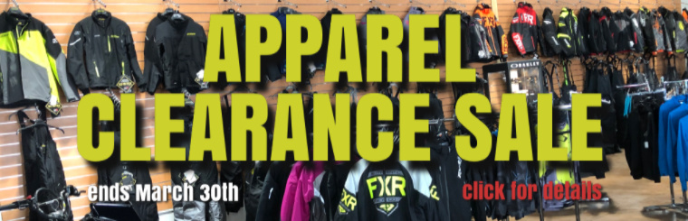 Apparel Clearance Sale