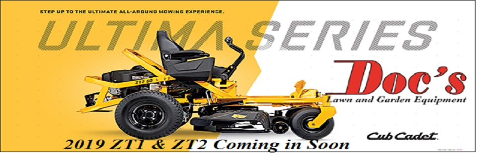 The New Cub Cadet 2019 ULTIMA ZT