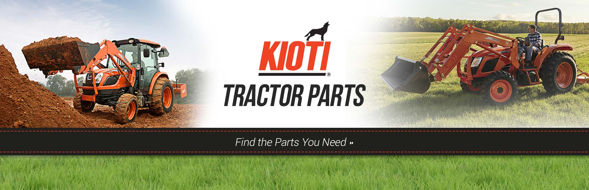 KIOTI Tractor Parts: Click here to find the parts you need.