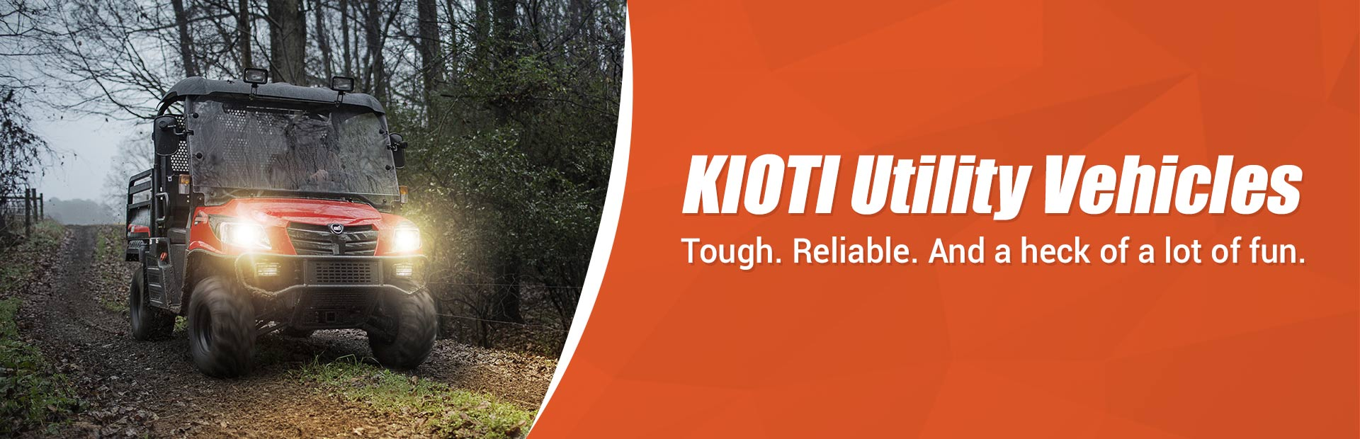 KIOTI Utility Vehicles: Click here to view the models.