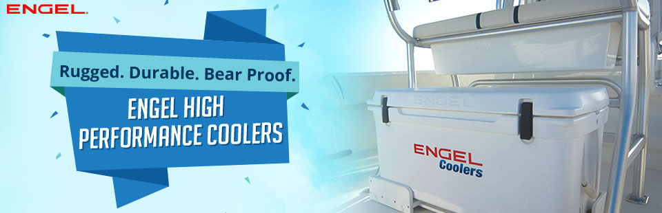 Engel High Performance Coolers are rugged, durable, and bear proof! Click here for directions.