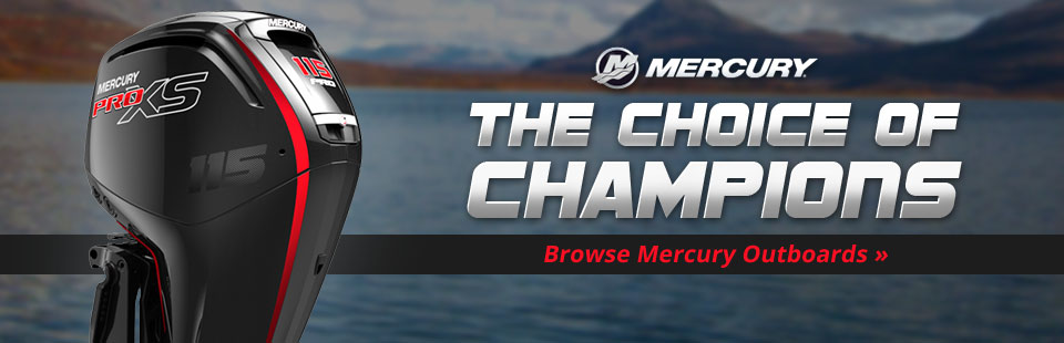Click here to browse our selection of Mercury outboards.