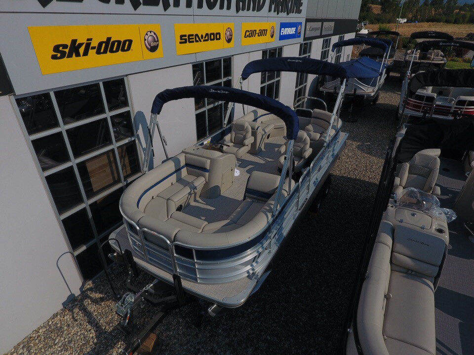 For Sale: 2018 South Bay 224rs 2.75 Pontoon Boat ft<br/>Banner Recreation Products