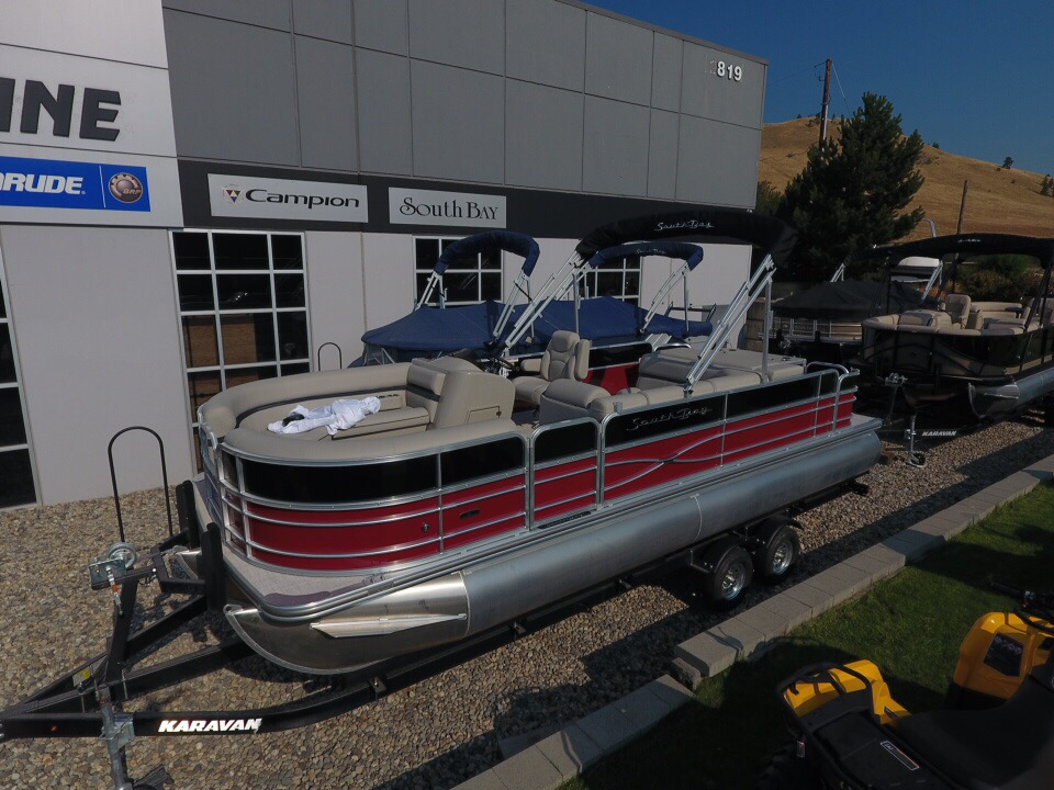 For Sale: 2018 South Bay 224 Fcr 2.75 Pontoon Boat ft<br/>Banner Recreational Products