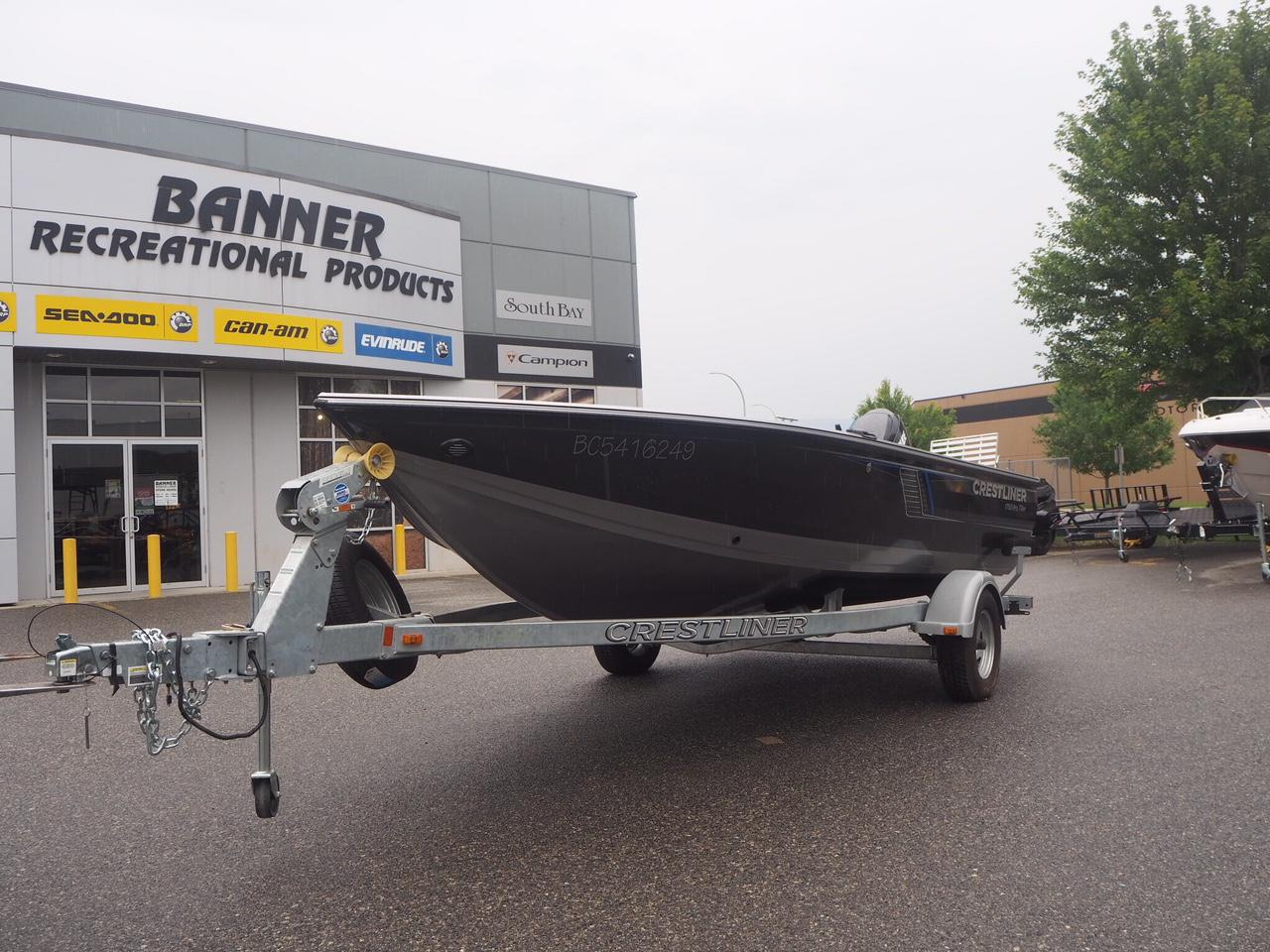 For Sale: 2016 Crestliner 1750 Pro-tiller ft<br/>Banner Recreation Products