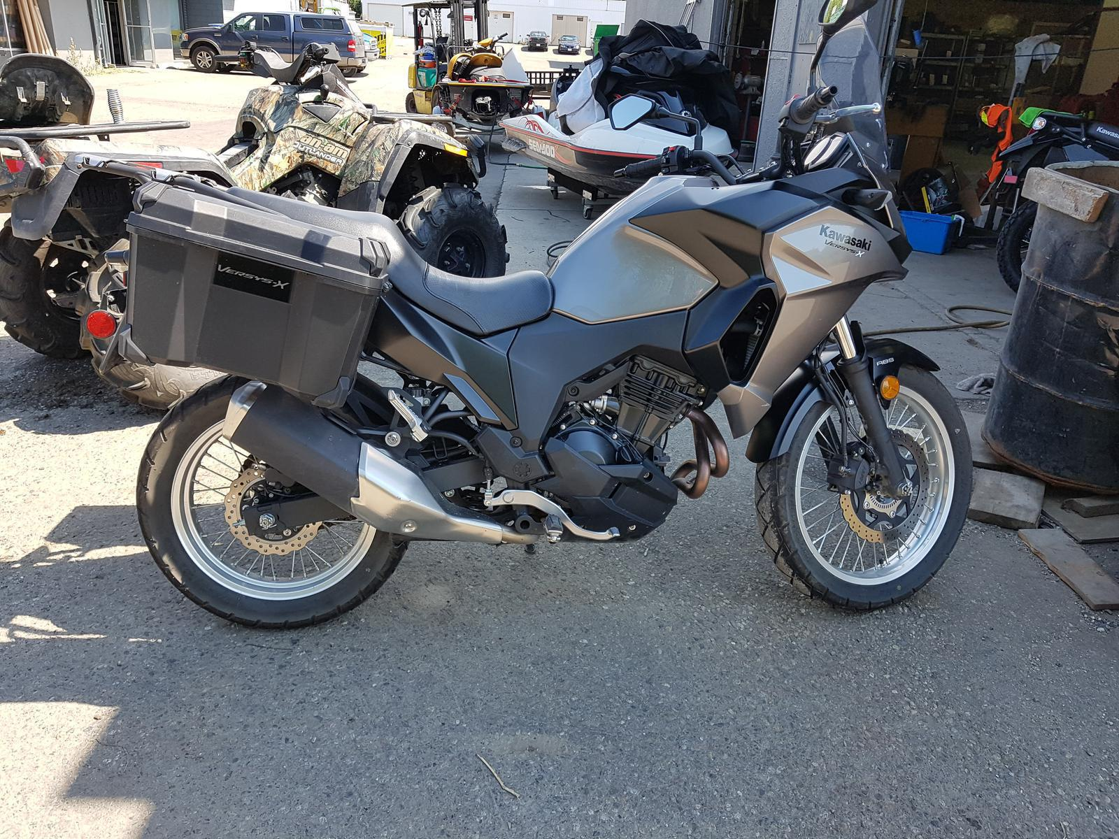 2017 Kawasaki Versys 300 X