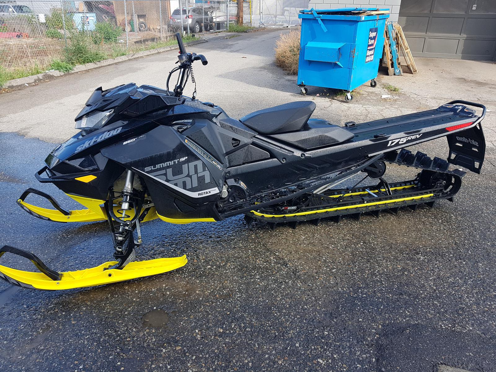 2018 Ski Doo Summit Sp 850 175 3