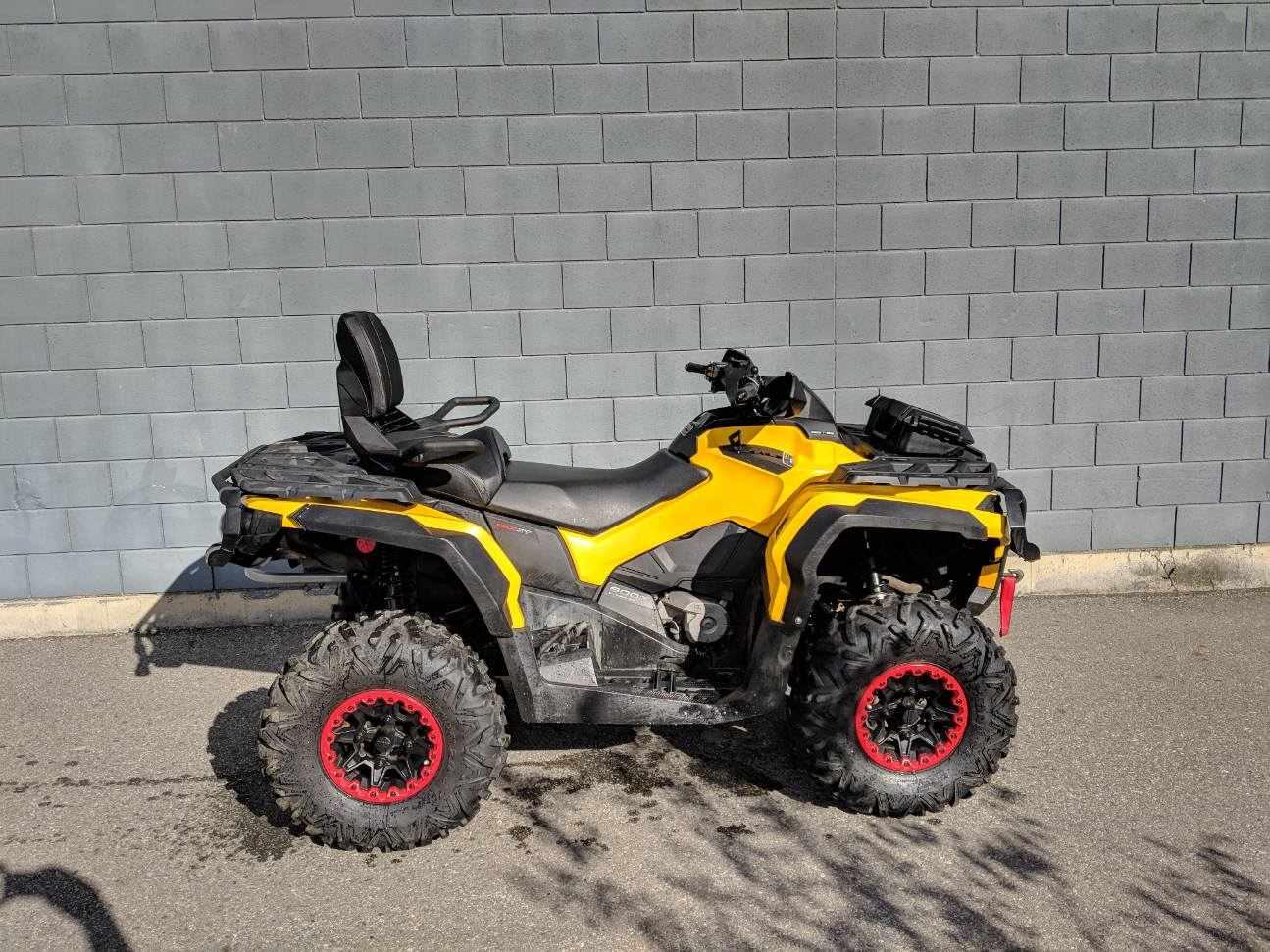 2013 Can-Am ATV Outlander Max Xt 800
