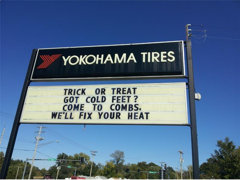auto repair sign sayings