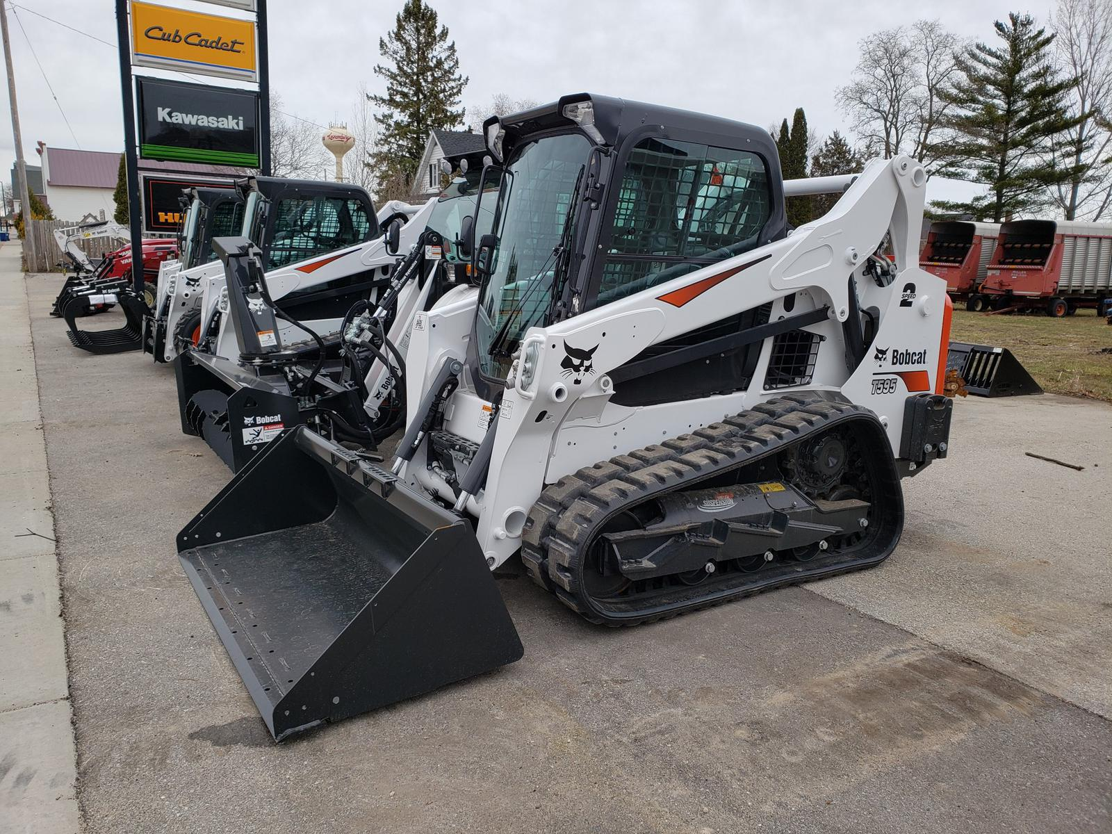 2019 Bobcat T595 Roller Suspension Option for sale in Luxemburg, WI