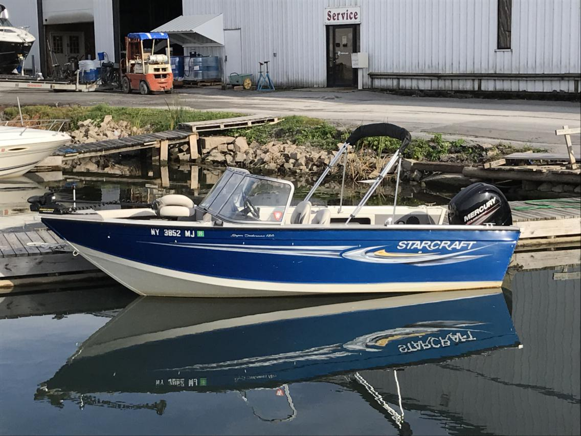 For Sale: 2012 Starcraft Superfisherman 186 18ft<br/>Hutchinson's Boat Works