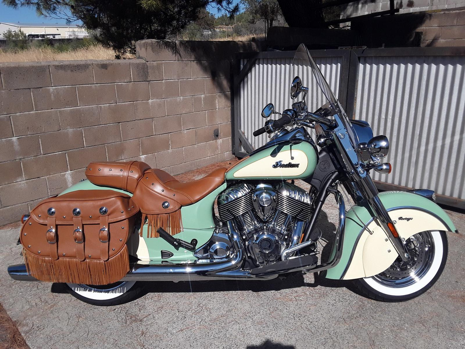 Indian Chief Vintage >> 2019 Indian Motorcycle Chief Vintage Wllw Grn Ivory Cream Cal