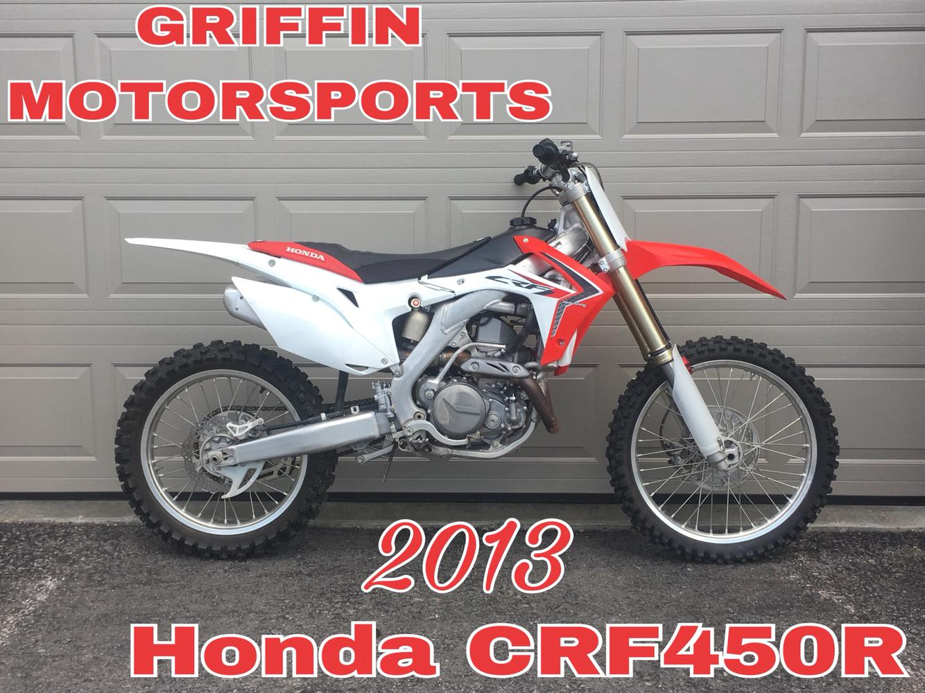2013 Honda Crf450r For Sale In Schenectady Ny Griffin Motorsports