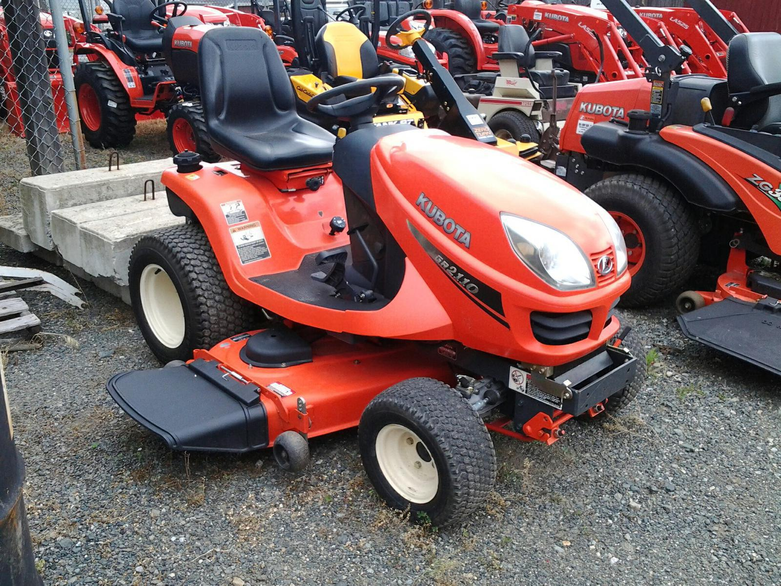 2008 kubota gr2110 garden tractor for sale in new berlinville pa erb henry equipment 610 367 2169 - Garden Tractors For Sale