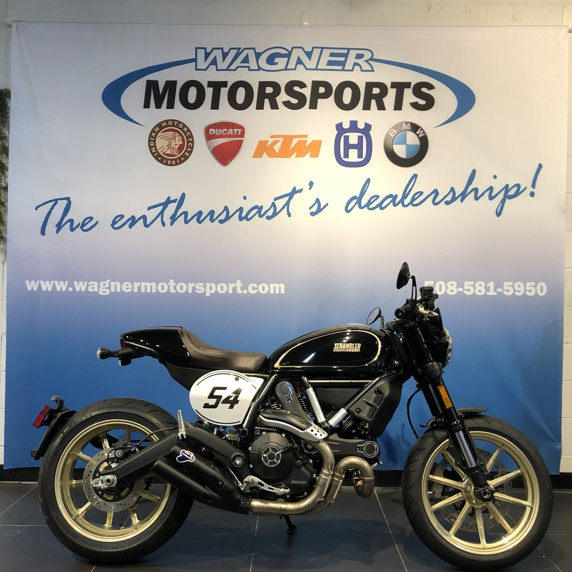 2018 Ducati Scrambler Café Racer For Sale In Worcester Ma Wagner