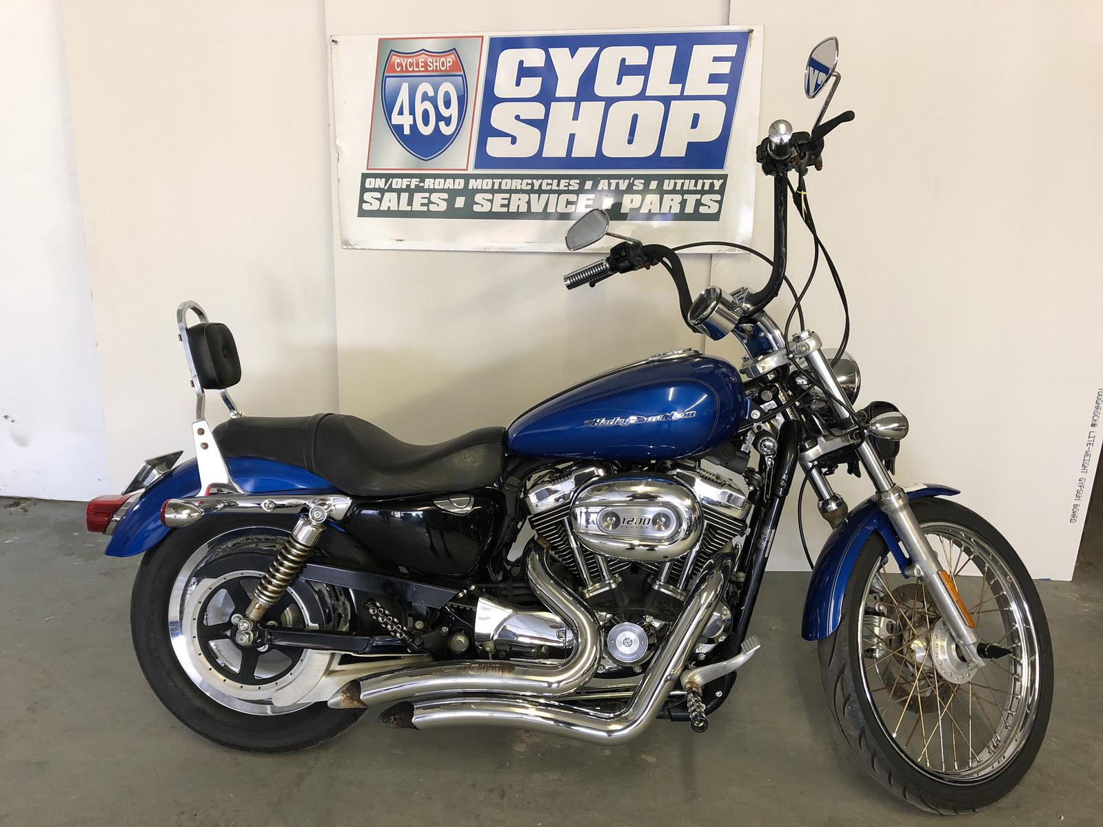 2007 Harley-Davidson® XL 1200C SPORTSTER - 469 Cycle Shop