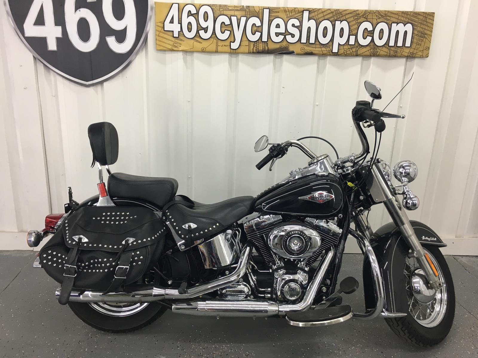 469 Cycle Shop Harley Davidson Heritage Softail Clic 2013 Flstc