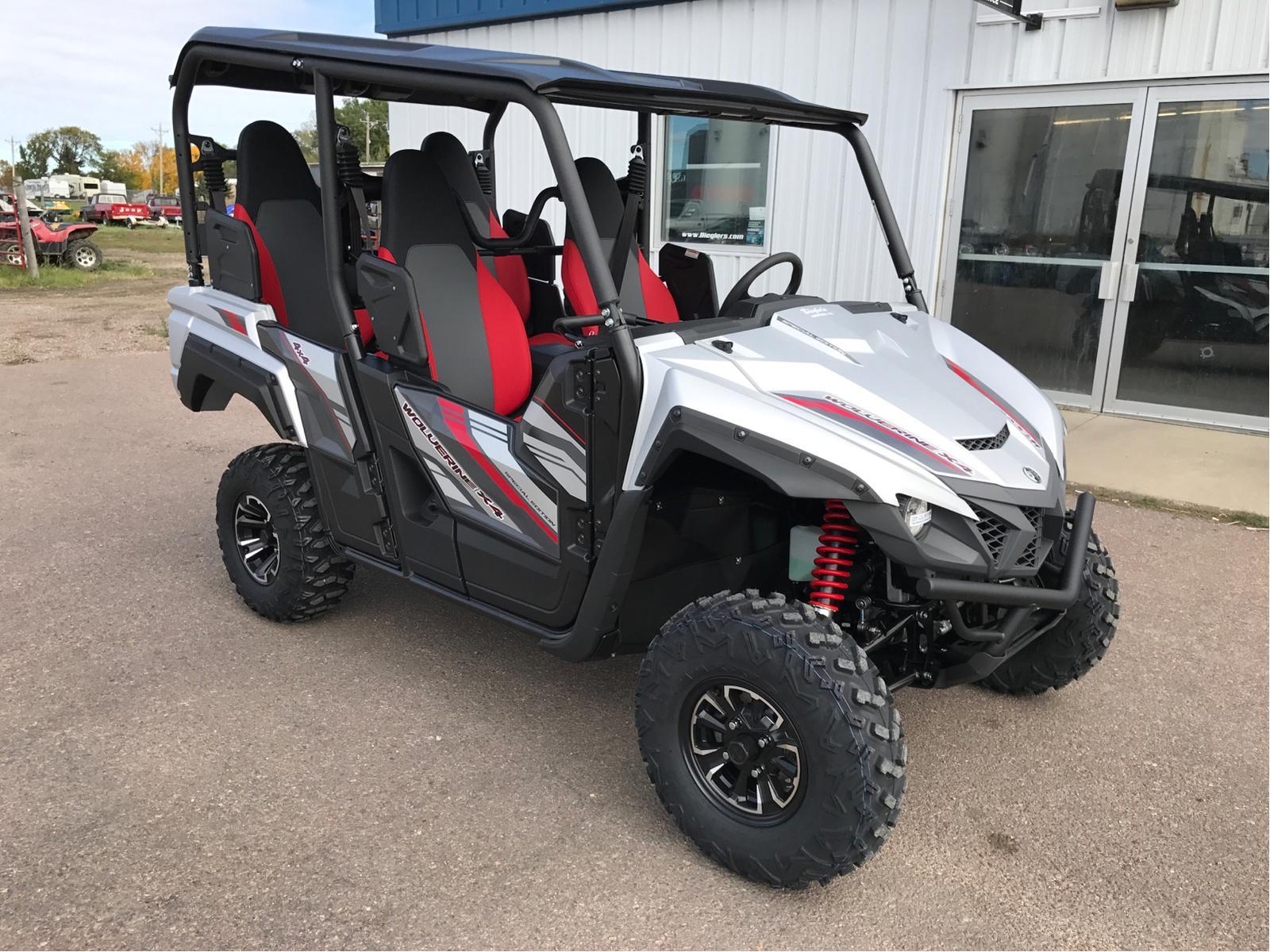 yamaha wolverine x4. 2018 yamaha wolverine x4 se for sale in aberdeen, sd | biegler\u0027s c\u0026s motorsports (800) 750-4533