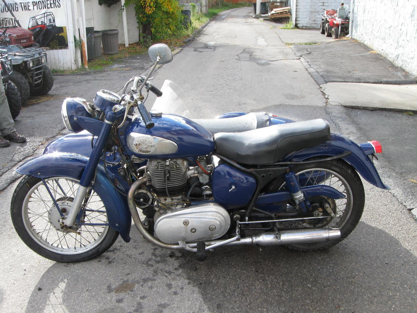 1959 Indian Motorcycle T700 For Sale In Princeton WV