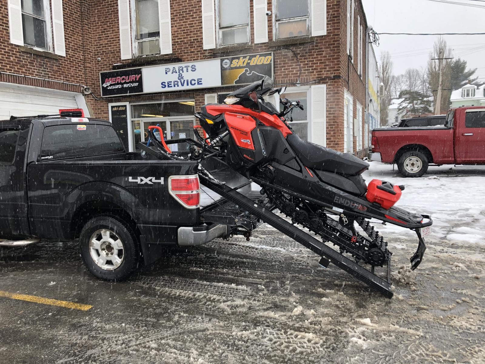 marlon single loader sled deck