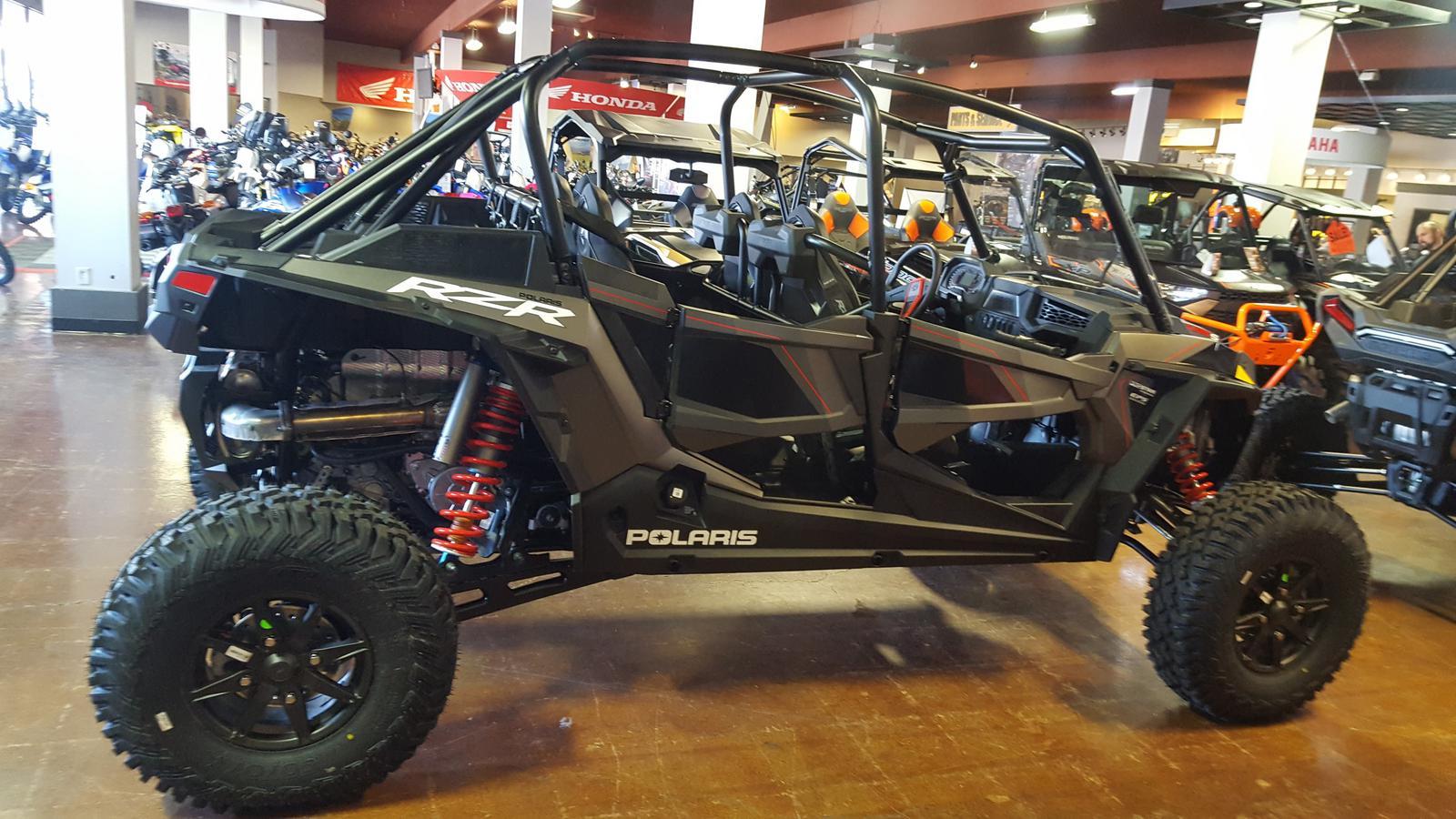 2019 Polaris Industries RZR XP 4 Turbo S Velocity - Titanium Metallic