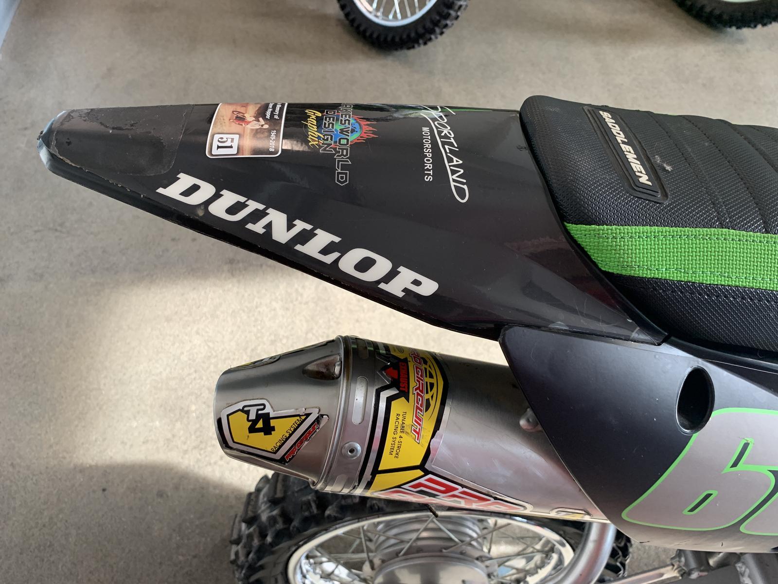 2018 Kawasaki KLX110DJF
