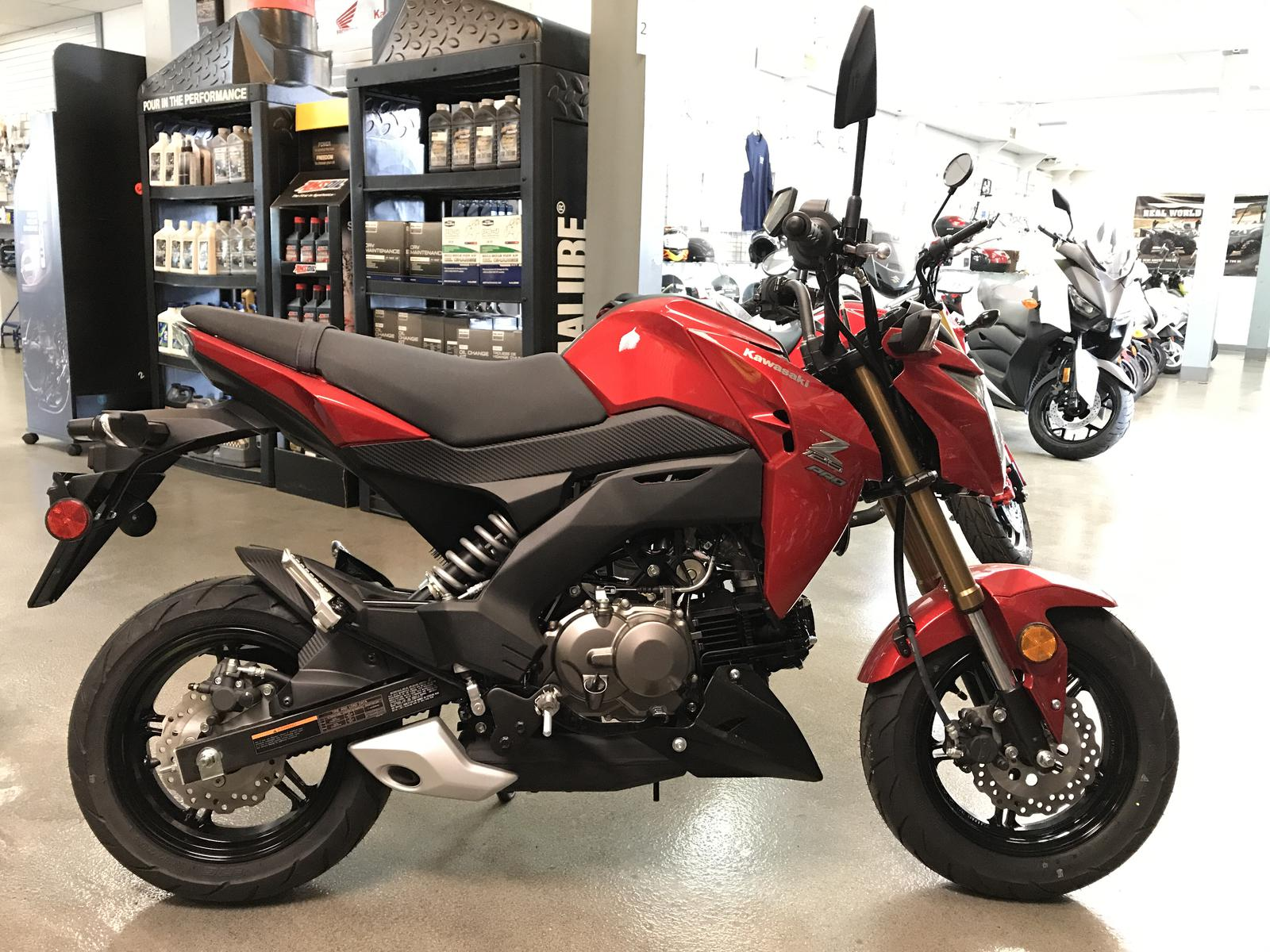 2018 Kawasaki Z125 Pro For Sale In Urbana Il Sportland