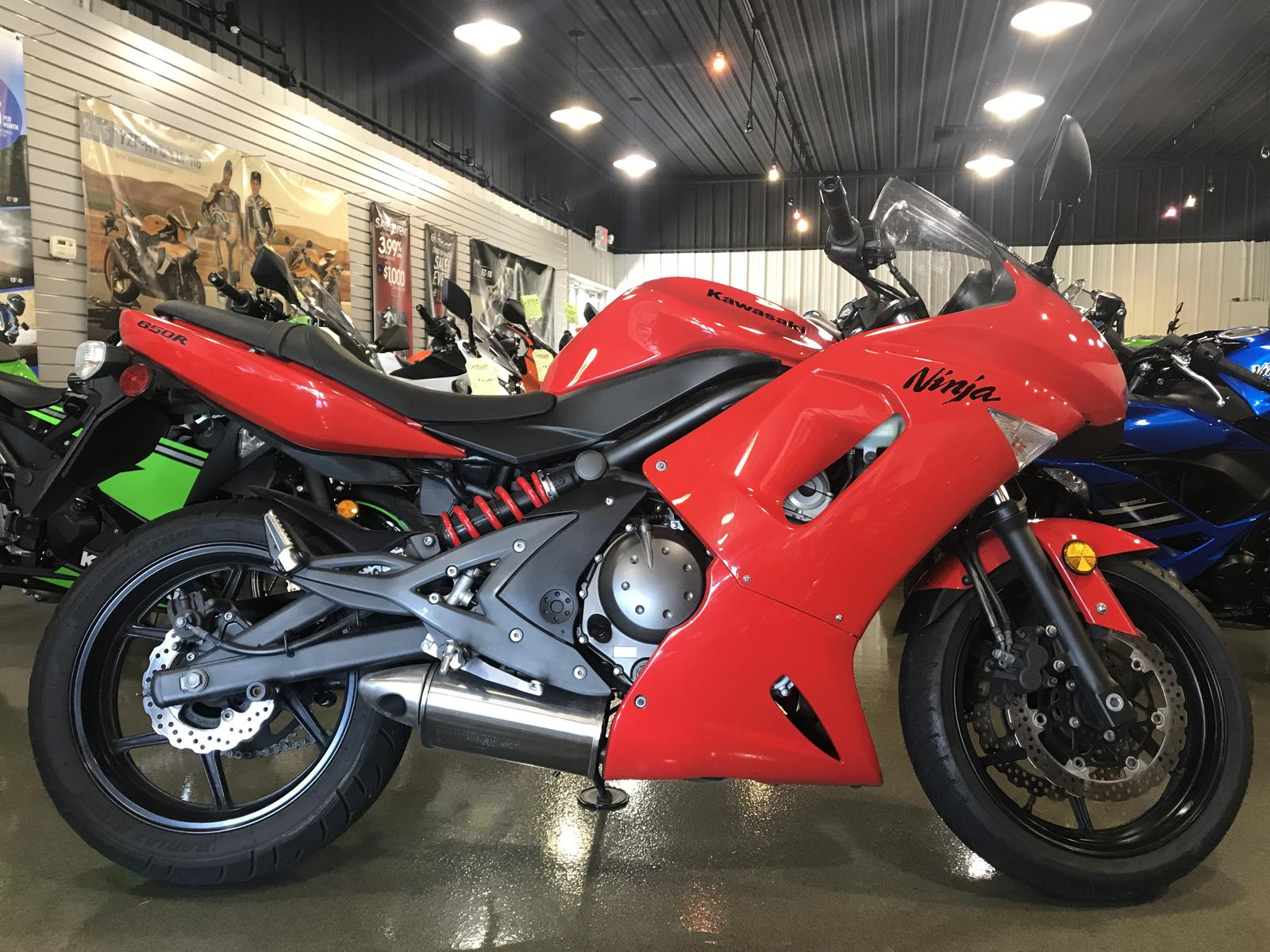 2008 Kawasaki Ninja 650r For Sale In Urbana Il Sportland